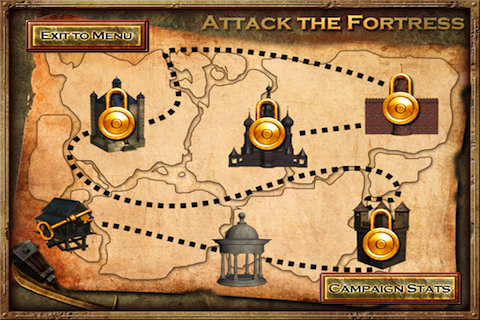 Screenshot Attack the Fortress