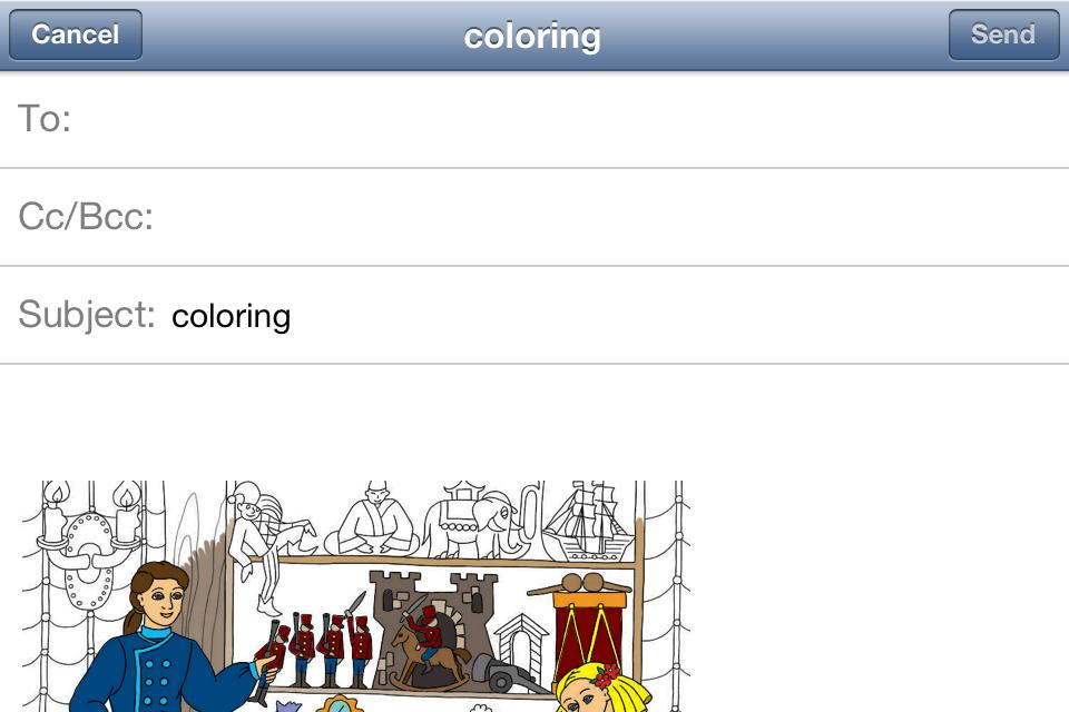 El cascanueces y el rey de los ratones. Libro para colorear para los ...